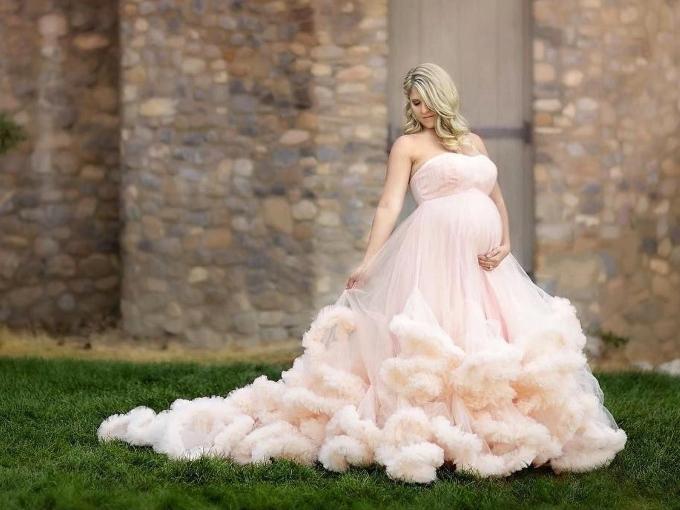 Cвадебное платье для беременных