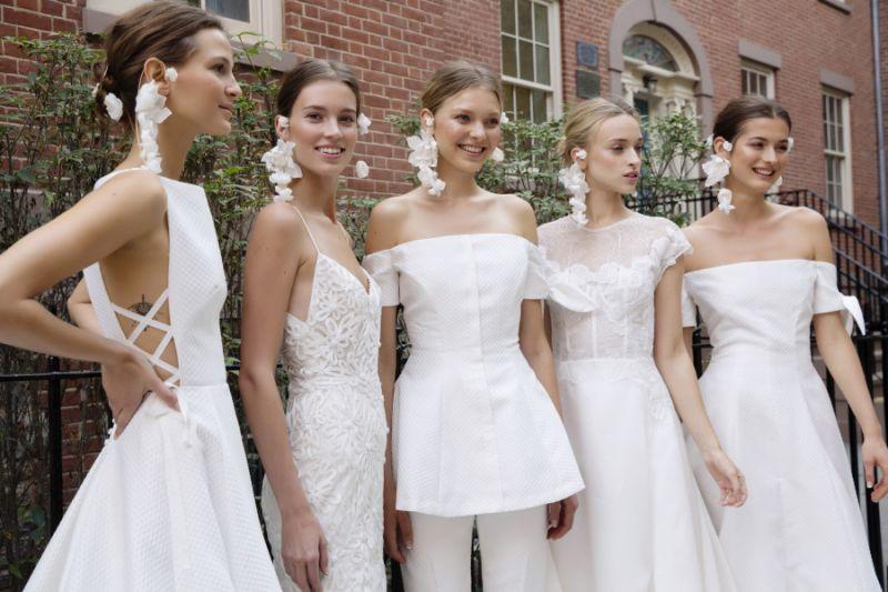 Lela Rose коллекция свадебных платьев 2018