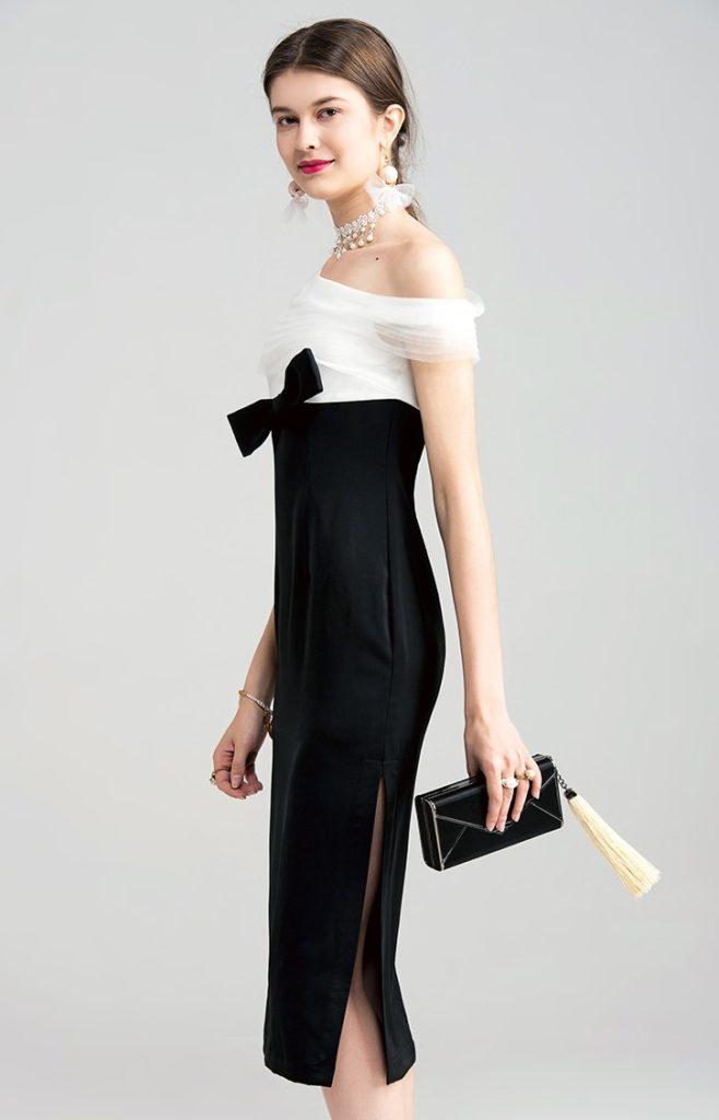 черное платье на свадьбу
