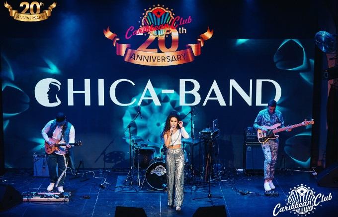 Концерт группы CHICA-BAND в Caribbean Club 15 июня