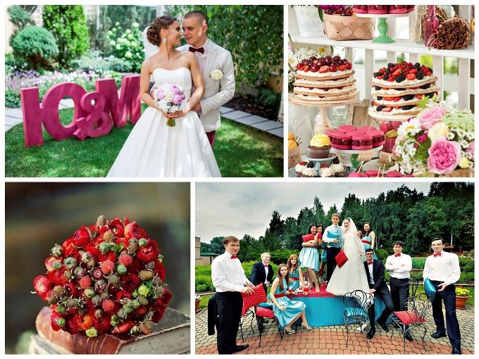 Ягодный декор свадьбы