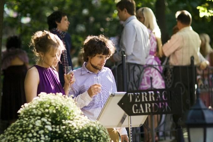 Церемония и бокал шампанского на Розовой террасе
