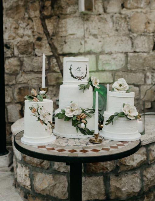 Свадебный торт 2018