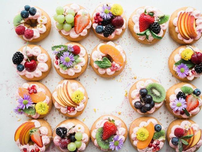 Десерты на летней свадьбе