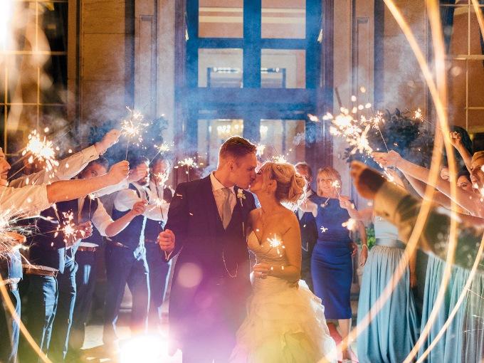Вечерняя церемония бракосочетания