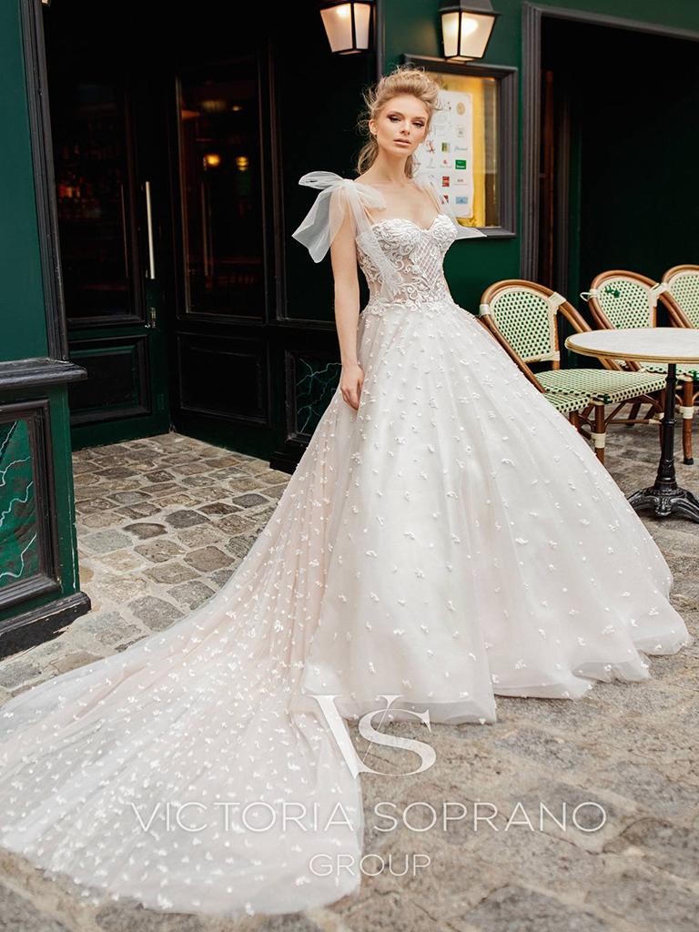 Свадебное платье Silaine от Victoria Soprano Group