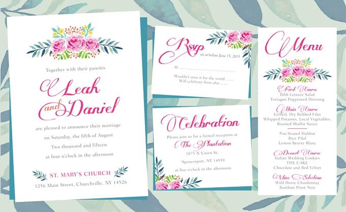 пригласительные на свадьбы