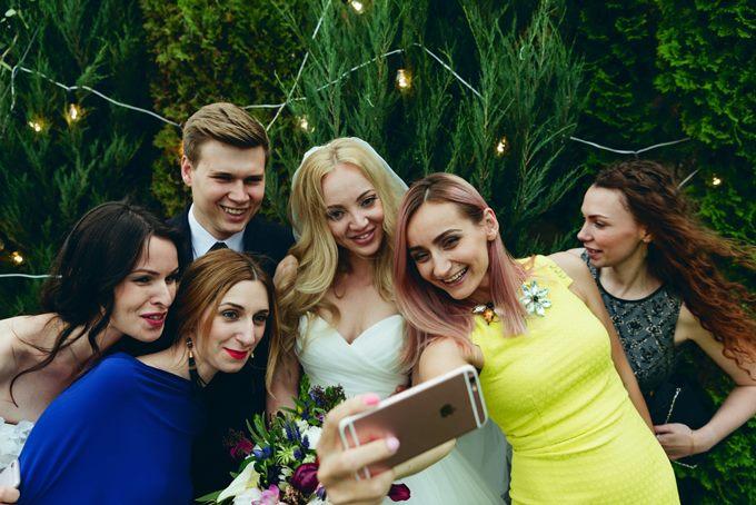 селфи на свадьбе
