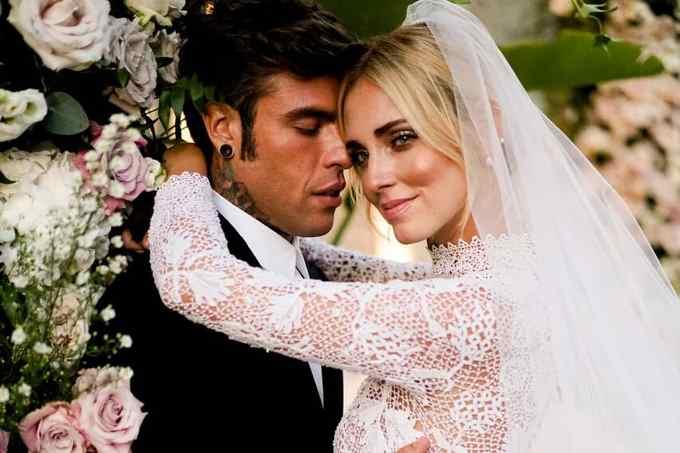 Свадьба Кьяры Ферраньи и репера Fedez