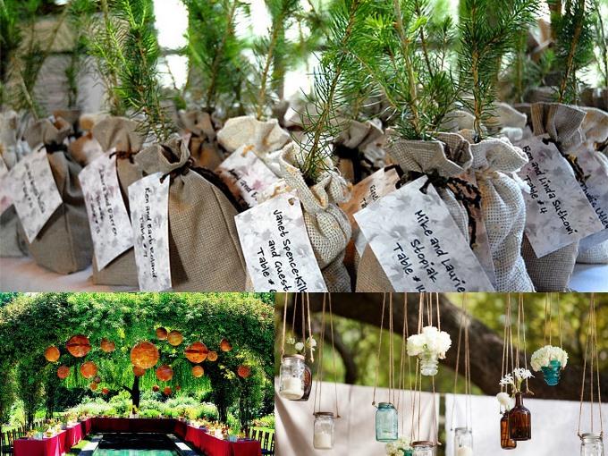 организация эко-свадьбы