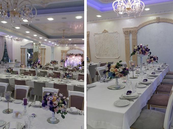"""роскошный зал ресторана""""TINATIN"""""""