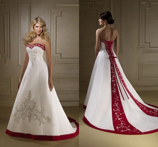 украинское свадебное платье