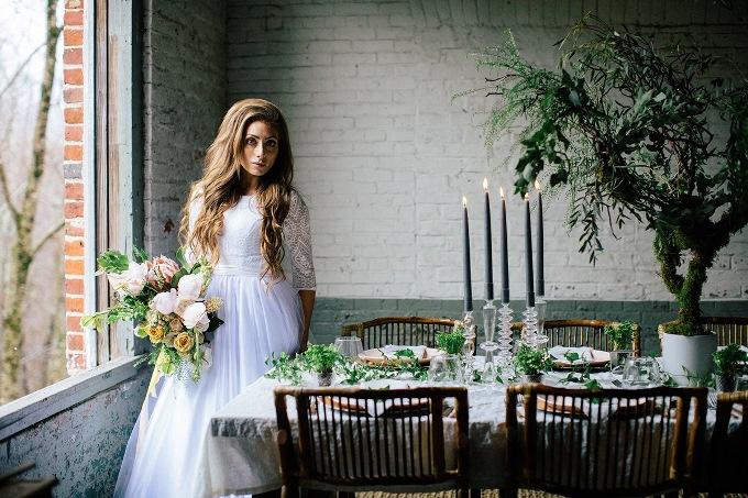 оформление эко свадьбы