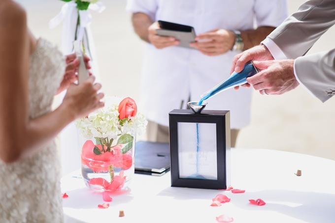 свадебная песочная церемония