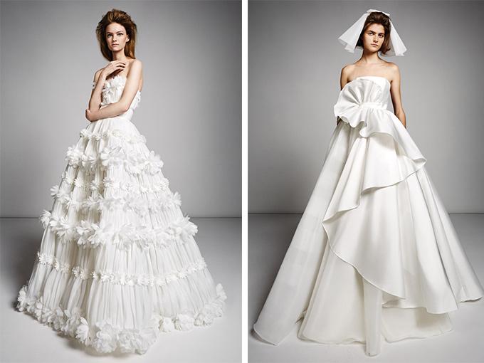 Свадебные платья Viktor & Rolf