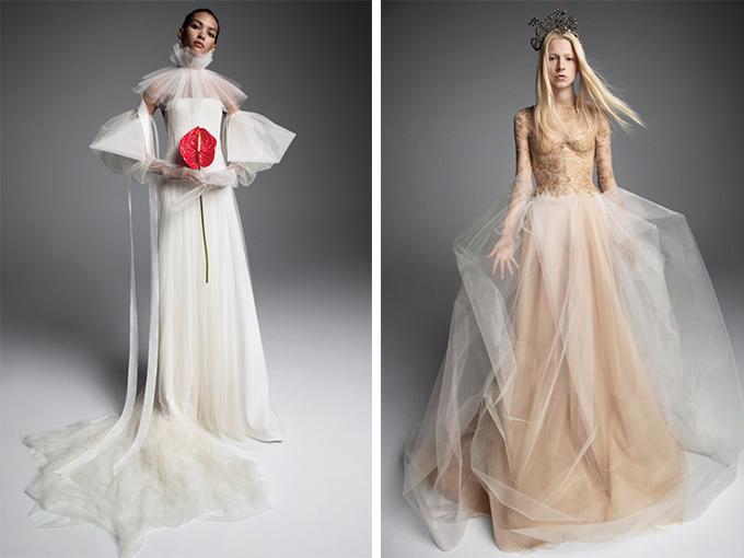 Свадебные платья Вера Вонг 2019