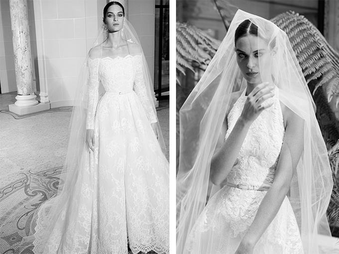 Свадебное платье бренда Elie Saab