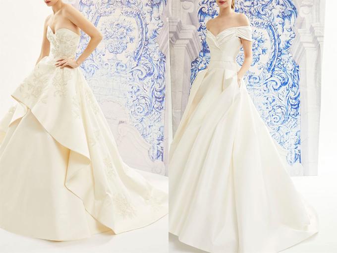 королевский шик свадебных платьев