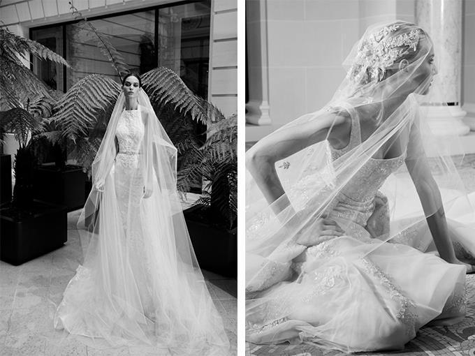 свадебные платья дизайнера Эли Сааб