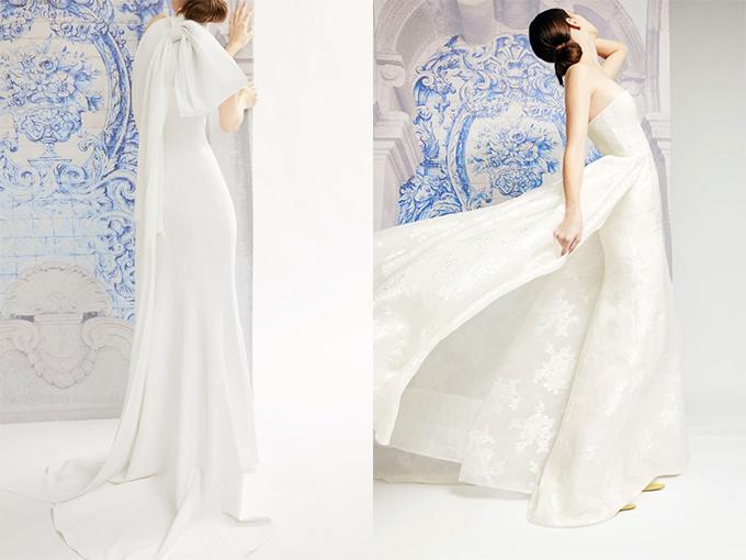 Минимализм в свадебных нарядах
