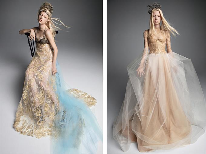 королевский образ невесты