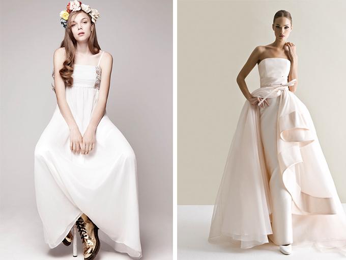 классический образ невесты и современные тренды