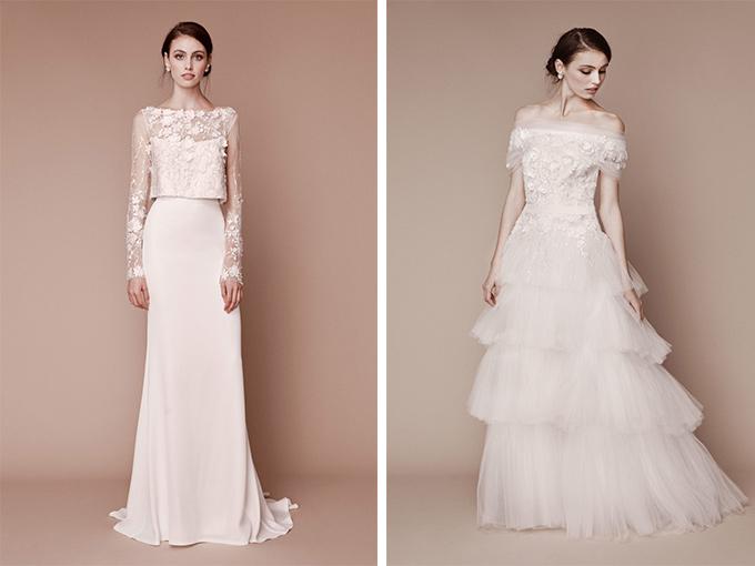 Свадебные платья коллекции TADASHI SHOJI BRIDAL
