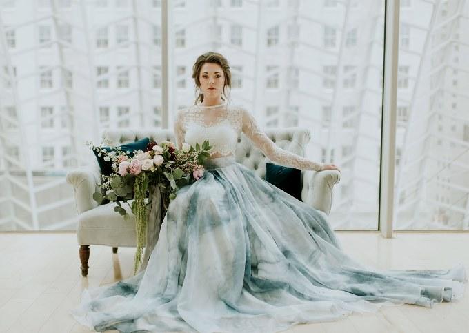 свадебное платье современные тренды