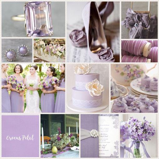 свадьба в цвете Лепесток крокуса