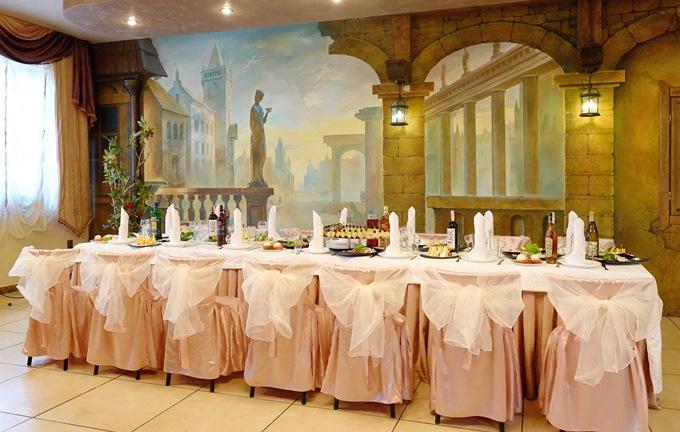 Свадьбы в ресторане Фигаро