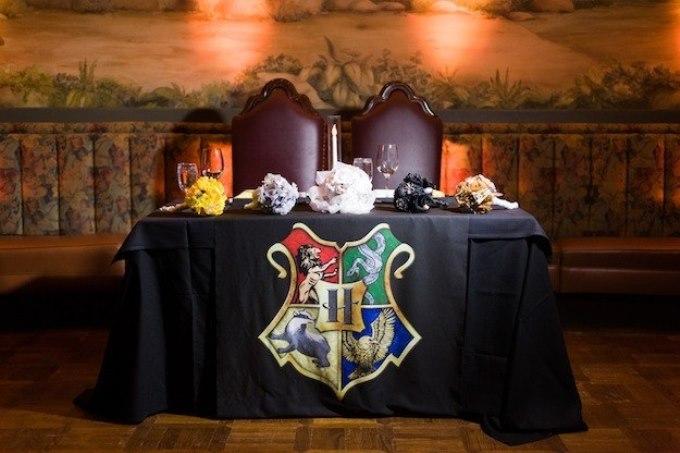 Декор свадьбы в стиле Гарри Поттера