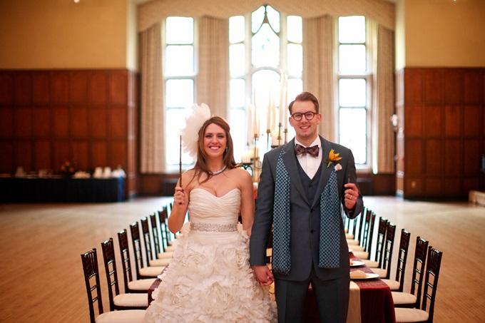 Свадебный наряд в стиле Гарри Поттера