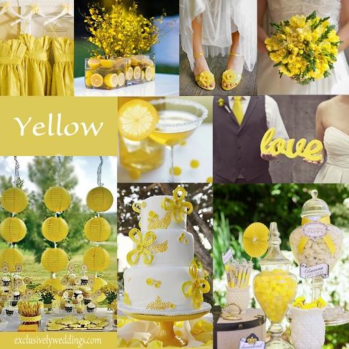 Свадьба в цвете нежный лимон