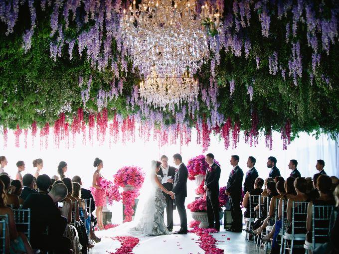 Левитация - новый тренд оформления свадьбы