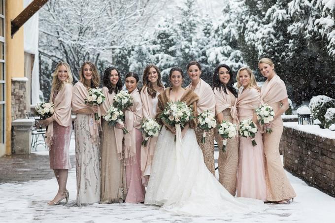 Как сэкономить на свадьбе зимой