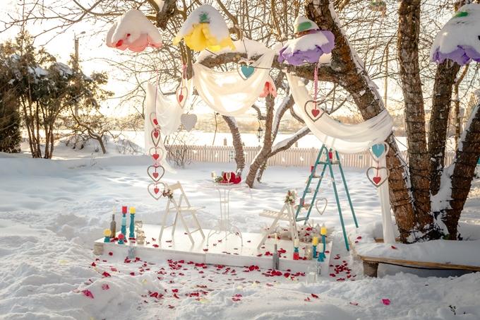 Романтический вечер ко Дню святого Валентина