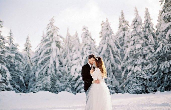 Свадьба зимой - на чем можно сэкономить