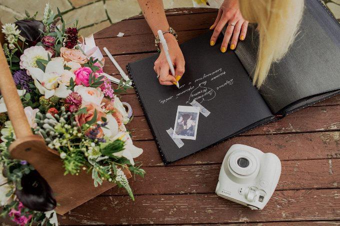 Как организовать зону пожеланий на свадьбе