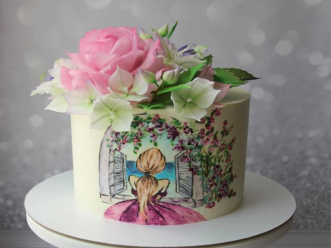 Торт на свадьбу 2019