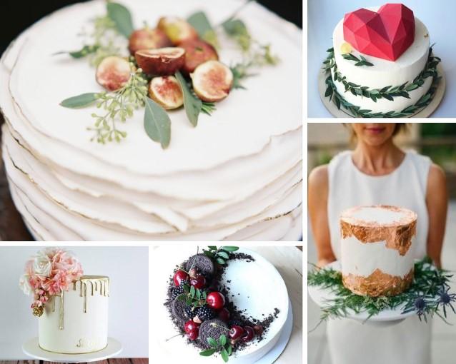Свадебный торт 2019