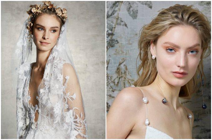 Тренды свадебного макияжа 2019