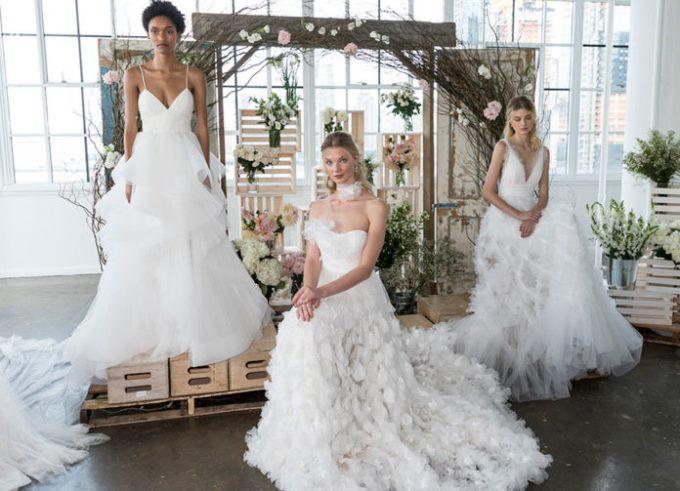 Свадебные платья 2019 модные тренды