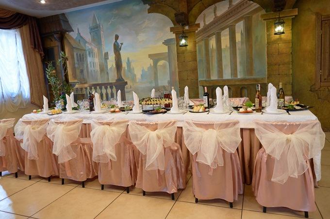 Красивый банкетный зал в Киеве