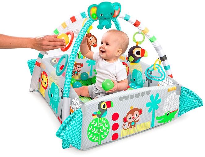 Выбираем детский развивающий коврик