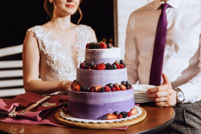 Свадебный торт тенденции 2019