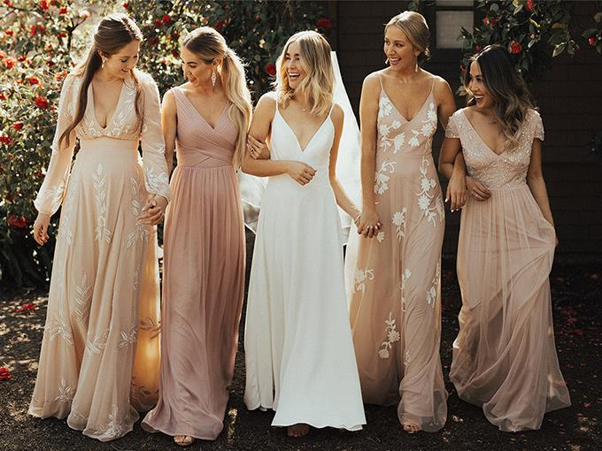 Идеальный образ подружки невесты