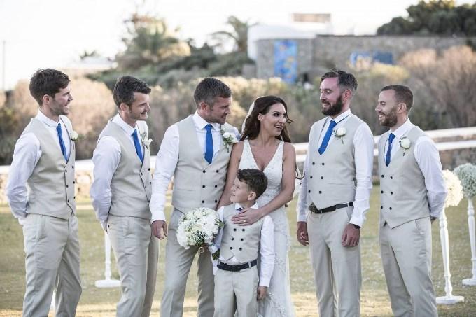 Стиль жениха и его друзей
