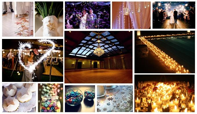 Звездный декор свадьбы