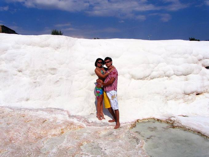 Медовый месяц в Памуккале