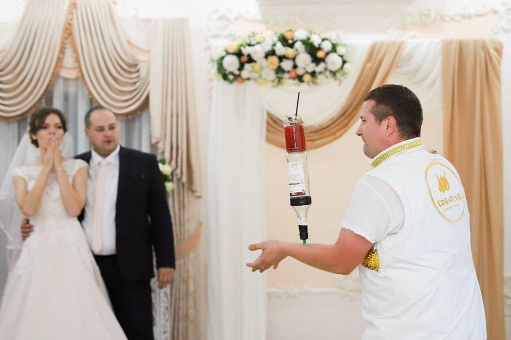 """АКЦИЯ от Бармен шоу от Barlife """"Just married"""""""